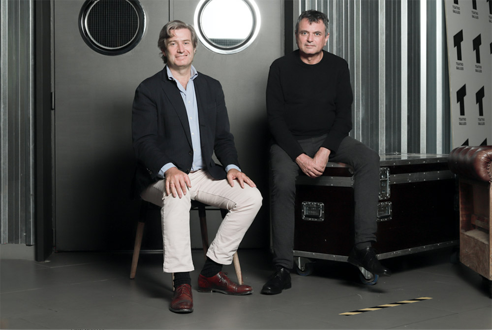 Javier Gomá y Ernesto Caballero